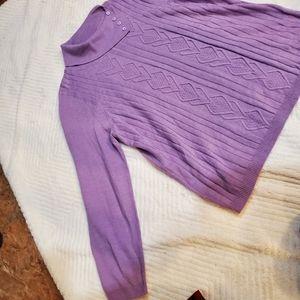 Lilac knit sweater